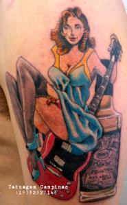 Tatuagem pinup