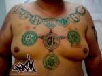 tatuagem guarani