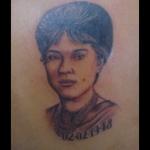 Retrato da mãe tattoo