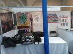 Nosso espaço na convenção.