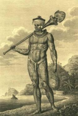 Tatuagem polinésia tradicional